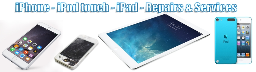 Apple iPhone iPad iTouch iPod Digitizer Screen repairs Kitchener Waterloo London