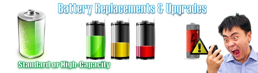Unlocking Battery Replacement iPhone Blackberry Samsung Android